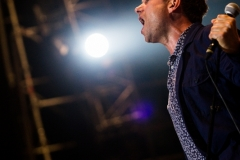 blur performing live in Rome italy