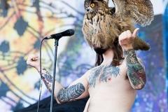 Kvelertak live at the Sonisphere Festival 2014, rock in roma