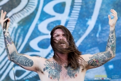 Kvelertak live at the Sonisphere Festival 2014, rock in roma