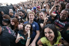 Volbeat live at Rock in Roma 2014 Sonisphere